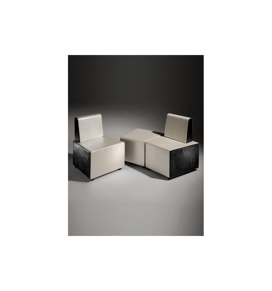 Mobiliario salas de espera sill n de espera transformer - Sillon de espera para peluqueria ...