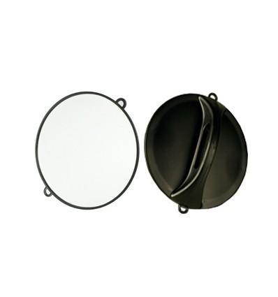 Espejo redondo negro for Espejo redondo negro