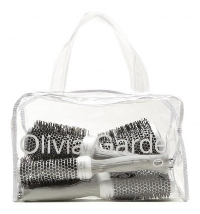 """Pack 5 Cepillos """"Ceramic+Ion"""" Olivia Garden"""