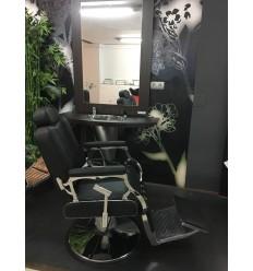 Sillón Barbero Retro Black