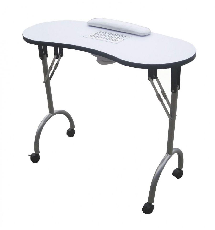 Mesas de manicura mesa de manicura port til palmar - Mesa para portatil ikea ...