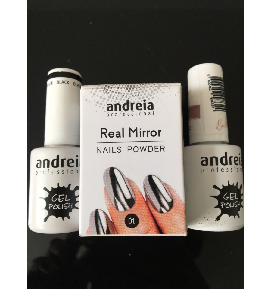 Real Mirror Nails Powder - Andreia Profesional - Ramos y Epi ...
