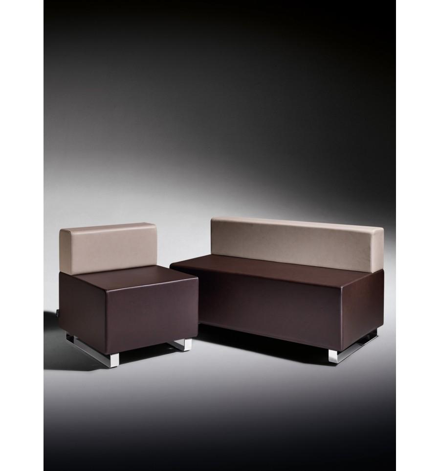 Mobiliario salas de espera sill n de espera uniplaza cuba - Sillon de espera para peluqueria ...