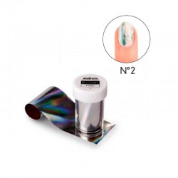 Foil 2 Multicolor Nail Art...
