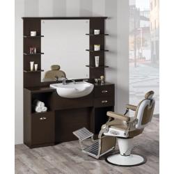 Mueble con Lavabo Barbería...