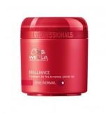 Wella Brilliance Mascarilla Cabello Fino/Normal 150 ml