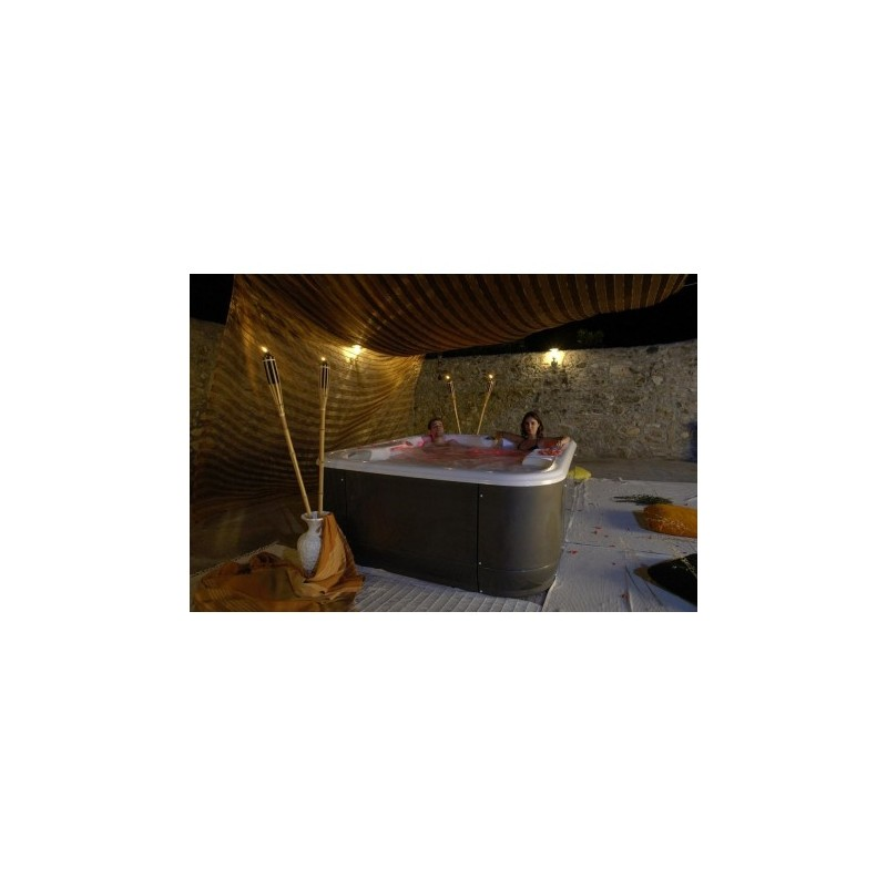 Spas minipiscinas spa ambar bis a bis 3 plazas for Minipiscinas spa