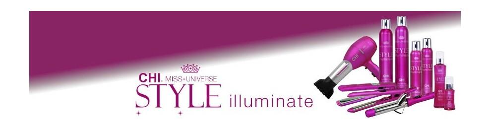 Línea CHI Miss Universe Style Iluminate