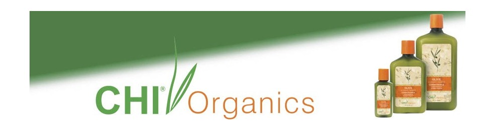 Línea CHI Organics Olive Nutrient Therapy