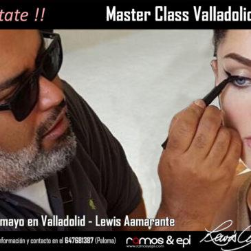 Master Class – Curso de Maquillaje con Lewis Amarante